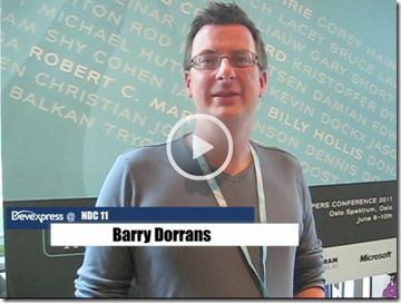 Barry Dorrans - Application Security at NDC 2011