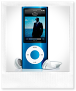 The sleek and stylish 5th Generation iPod