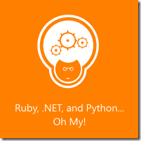 Codemash - Ruby, .NET and Python ... Oh y!