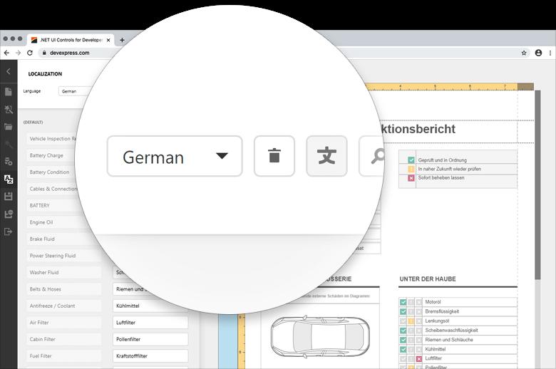 Localization Editor - Translation Button