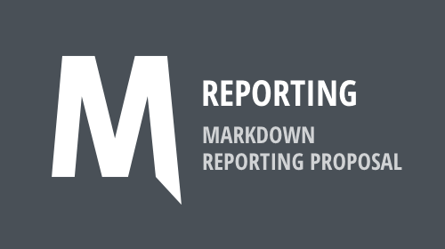 Markdown-based Reporting - Your Vote Counts