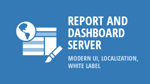 Report and Dashboard Server - Modern UI, Localization, White-Label (v18.2)