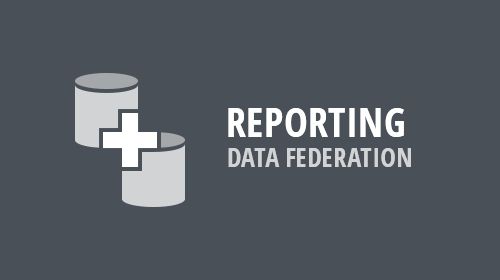 Reporting - Data Federation (v19.1)
