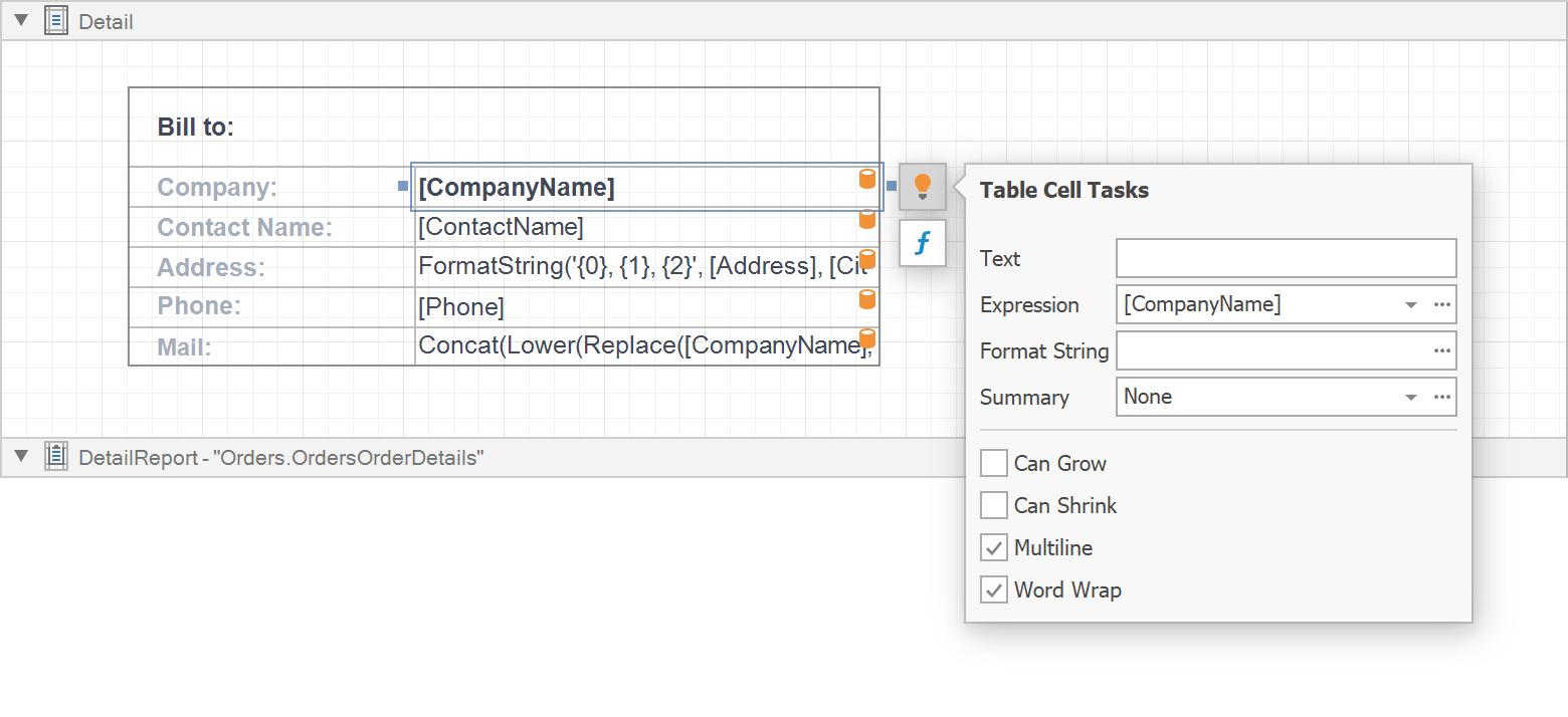 Report Designer - New Smart Tag Icon
