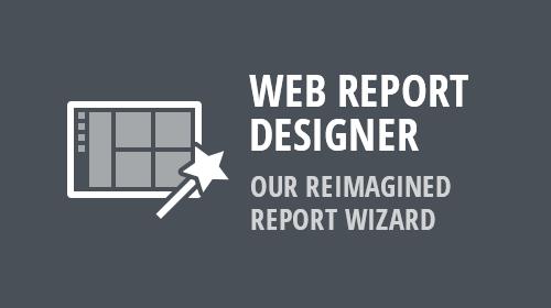 Web Report Designer - Our Reimagined Report Wizard (v19.1.4)