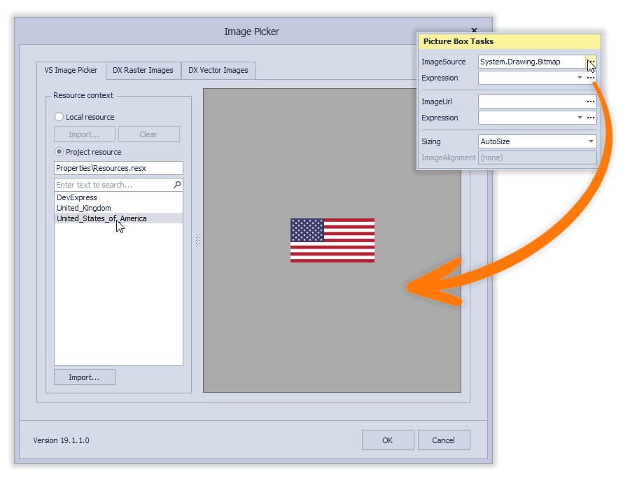 ImageSource - DX Image Picker