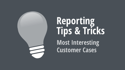 Reporting – Tips & Tricks (November and December 2019)
