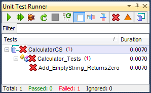 CalculatorTestFailTestRunner