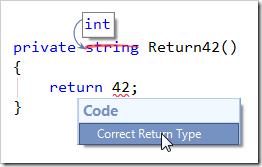 CorrectReturnType