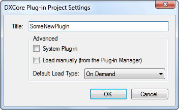 DXCoreProjectPluginSettings