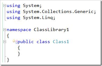 SimpleClassLibraryWithUnusedDeclarationAfterCleanup