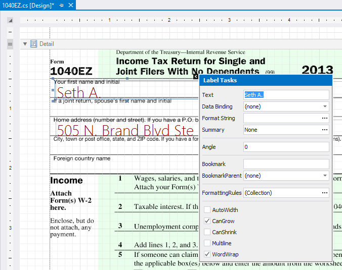 Reporting: Pre-Printed Forms and the new ASP.NET Document Viewer ...