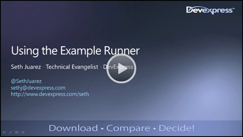 Sample Runner Video