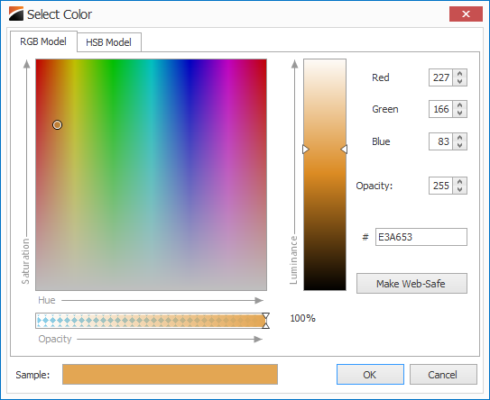 Advanced Color Chooser