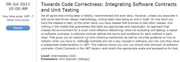 Towards Code Correctness: Integrating Software Contracts and Unit Testing