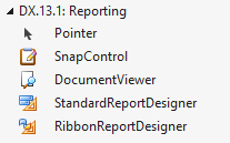 New Reporting Toolbox