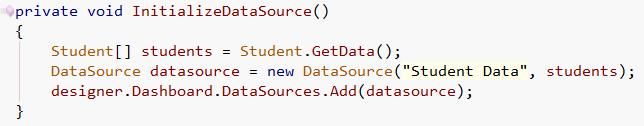 Object Binding Code