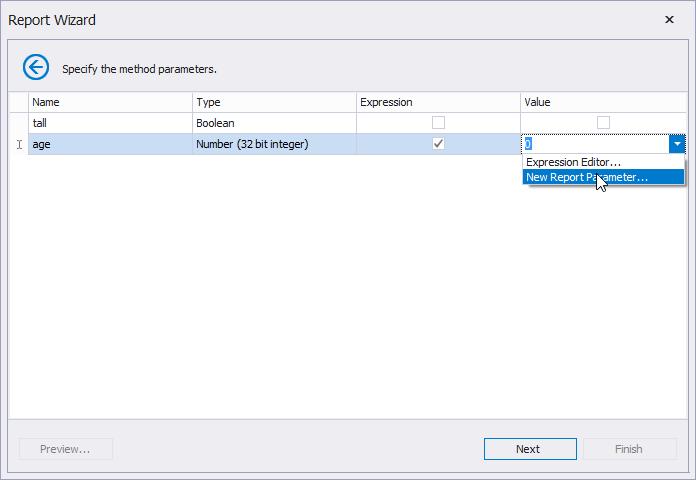 Manage Method Parameters