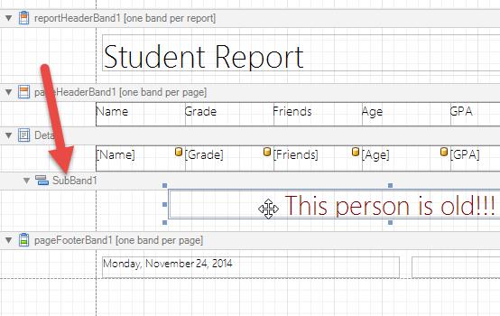 Sub Band Example