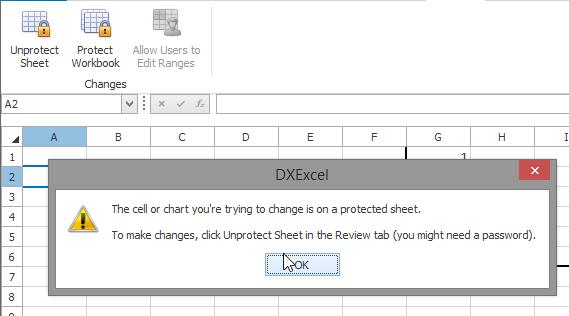 Unprotect Sheet