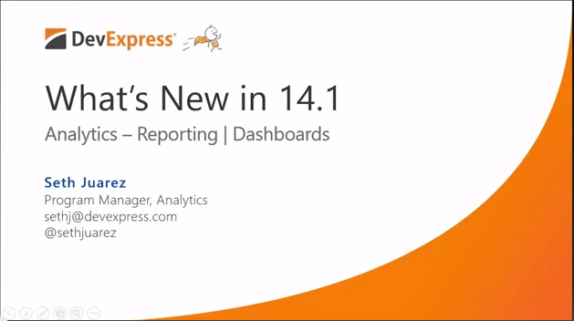 What's New for 14.1 Analytics
