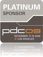 PDC 2009 sponsor logo