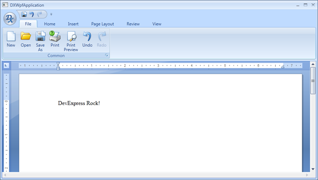 WPF Rich Edit Control and WPF Ribbon