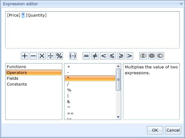Silverlight Expression Editor