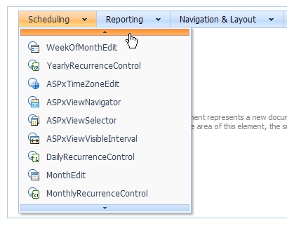 ASP.NET AJAX Menu Scrolling