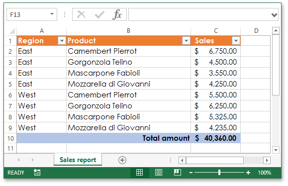 .NET Document Generation - Excel Export Library
