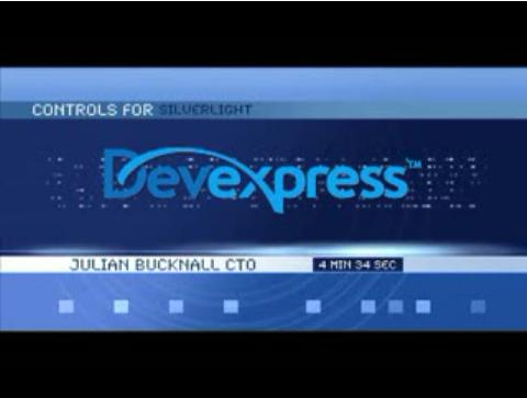 DevExpress Grid for Silverlight Video