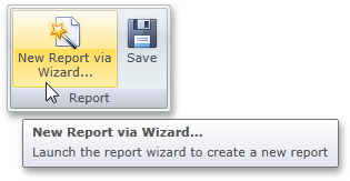 Silverlight Report Wizard