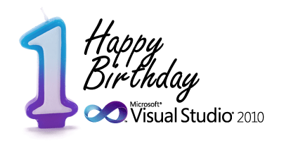 DevExpress - Visual Studio 2010 One Year Anniversary