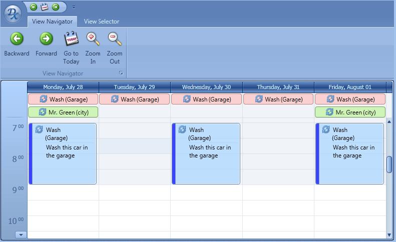 WPF Work Week - Scheduler Control