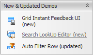 WinForms Grid New Demos