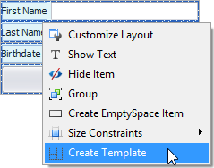 WinForms Form Layout Custom Templates
