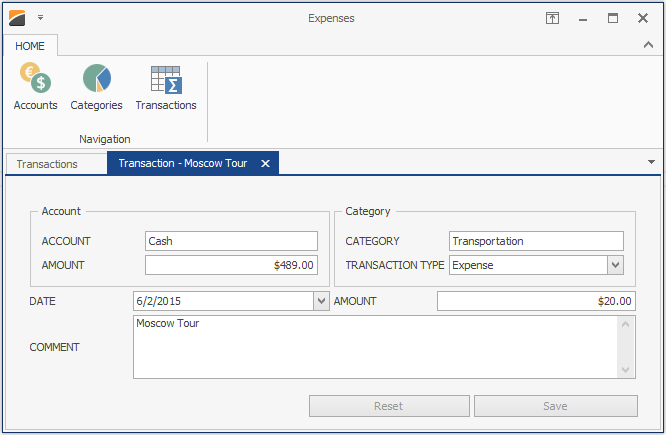 WinForms Data Layout Control