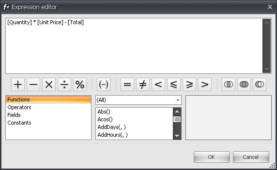 WinForms Property Grid Expression Editor