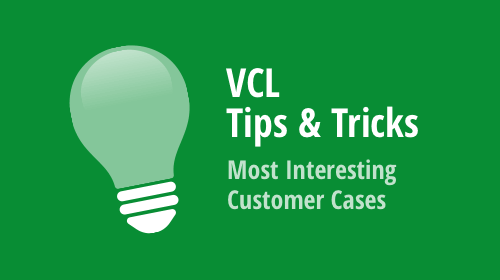 VCL - Tips & Tricks (October 2019)