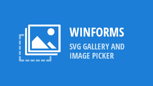 WinForms - SVG Gallery and Image Picker (v18.2)