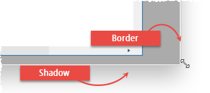 Form Border Shadow
