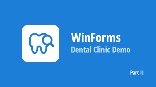 WinForms Dental Clinic Demo and SvgImageBox Control