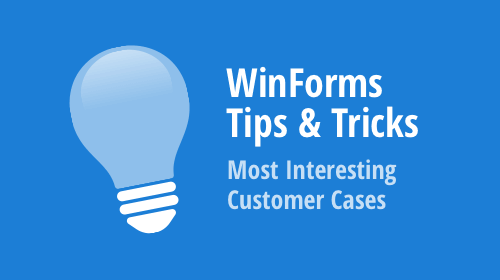 WinForms - Tips & Tricks (August 2019)