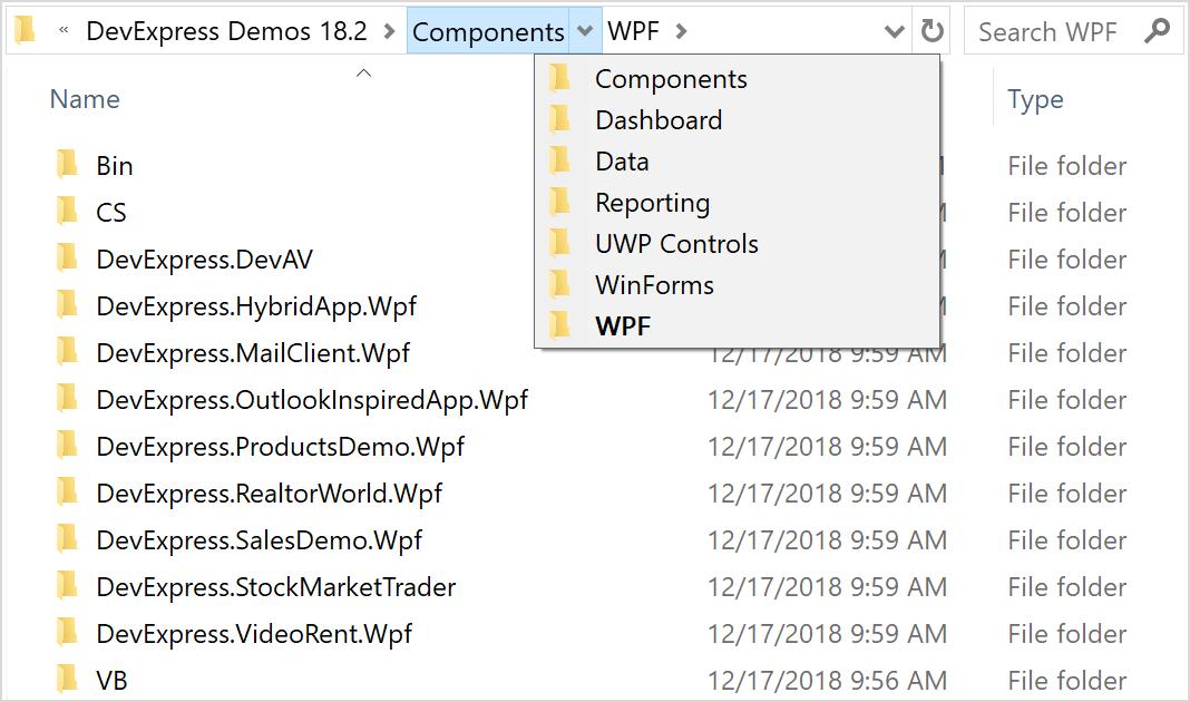 WPF Controls - 2019 Roadmap