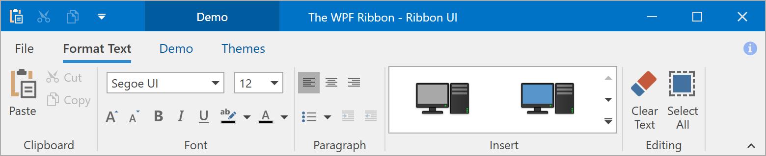 Ribbon Control