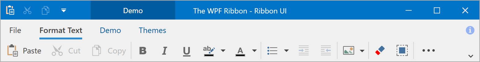 Simplified Ribbon Mode
