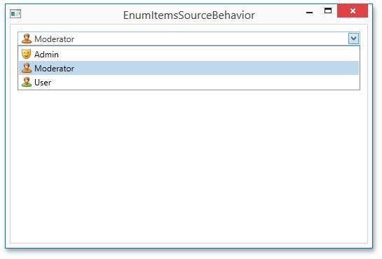 DevExpress MVVM Framework  EnumItemsSourceBehavior
