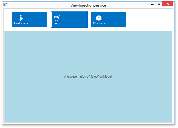 wpf tabcontrol template - devexpress mvvm framework viewinjectionservice wpf