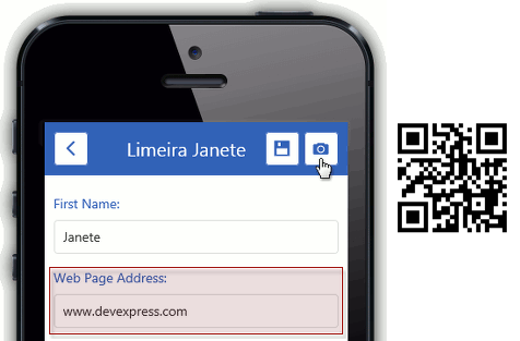 How to use a Barcode Scanner in XAF Mobile