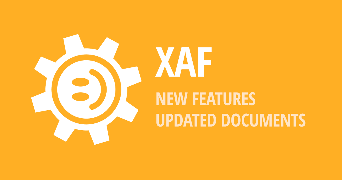 XAF - Enhanced Office Module, Updated Learning Materials and More (v18.1.5)
